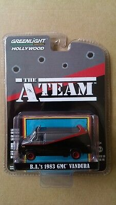 Greenlight The A-Team B.a.'s 1983 Gmc Vandura Tv Movie Car Hollywood Neu & Ovp