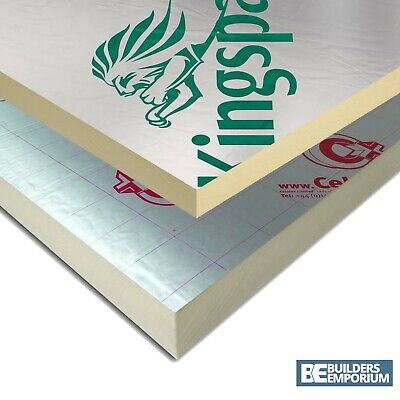 Ecotherm / Celotex / Kingspan / Recticel PIR Insulation Boards 2400x1200mm