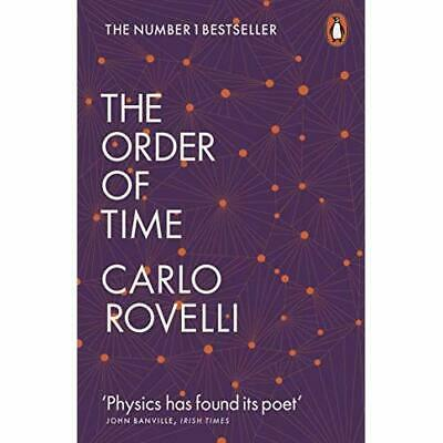 The Order of Time - Paperback / softback NEW Rovelli, Carlo 04/04/2019