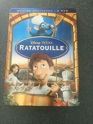 "DVD disney "" Ratatouille "" Losange N° 90 Edition steelbook 2DVD"