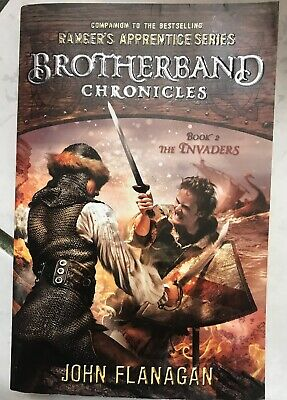 The Brotherband Chronicles: The Invaders 2 by John Flanagan PB ~ Free Ship