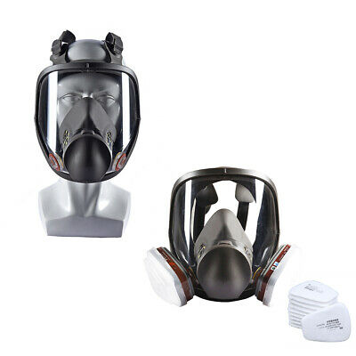 Activated Carbon Paint Spary Chemical Full Face Respirator Protective Dust Mask