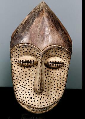 Beautiful  Tribal Lega Bwami  Mask   --  Congo BN 8