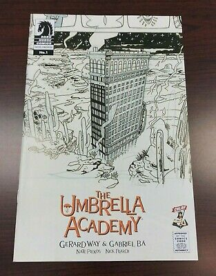 The Umbrella Academy Hotel Oblivion #1 Gabriel Ba Sketch Cover Variant /1000 NM