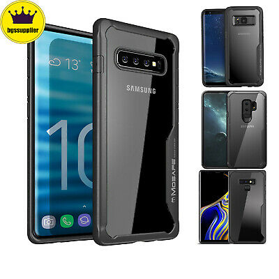 For Samsung Galaxy S9 S8 S10 Plus Note 8 9 10 Clear Case Shockproof Bumper Cover
