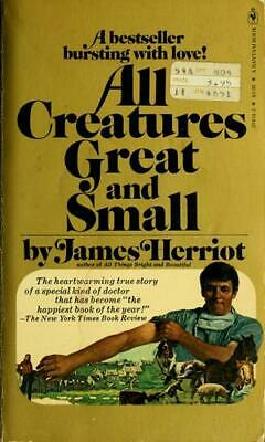 All Creatures Great and Small  (ExLib) by James Herriot