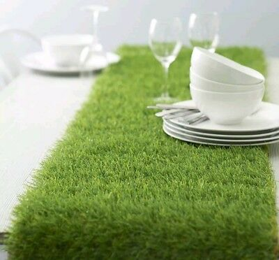 ARTIFICIAL GRASS TABLE RUNNER (25cm ×2m) Large