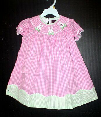 499dc1cea39 GIRLS LIL CACTUS pink boutique sundress 5 NEW seersucker owl ...