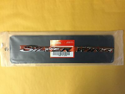 Honda Silver Wing Emblem For Right Side Genuine Part Made In Japan B4-5