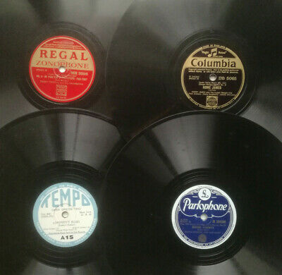 "pick any 4 from list for £9.99 inc UK postage - jazz swing 78 rpm 10"" records"