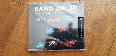Band Aid 30 DO THEY KNOW IT'S CHRISTMAS? (2014) 4 track CD New & Sealed