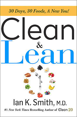 [PDF,BY EMAIL] Clean & Lean:30 Days, 30 Foods a New You! Weight Loss Diet EB00K