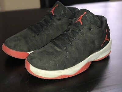 new concept 43888 819d6 Nike Air Jordan B. Fly BP Low Top Black Red Grey Basketball Shoes Kids Youth