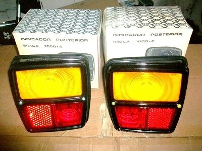 Nos Heckleuchte / Rear Lamps / Feux Arriere / Piloto Simca Talbot 1000 Rallye