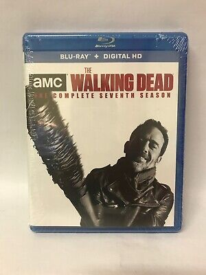 New Sealed The Walking Dead - The Complete Seventh Season Blu-ray + Digital HD 7