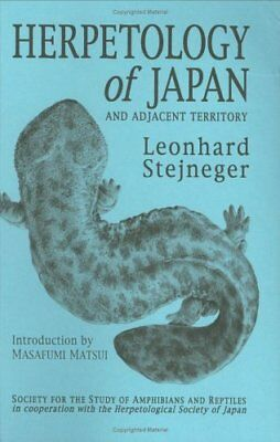 Herpetology of Japan and Adjacent Territory (Facsimile Reprints in Herpetology)