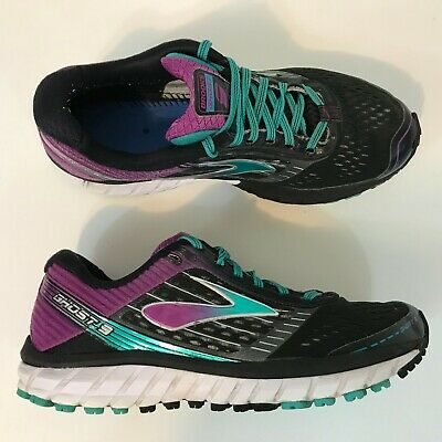95271ded6c6 Brooks Ghost 9 Womens Running Shoes Size 8.5 B Purple Blue Fast Shipping
