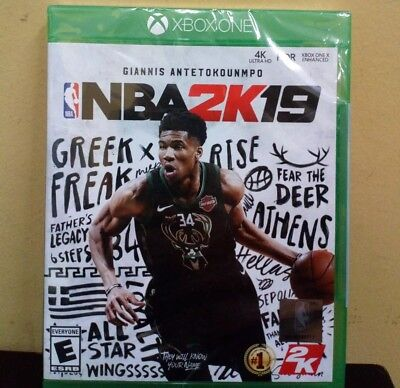 NBA 2K19 - Standard Edition (Microsoft Xbox One, 2018) NEW SEALED LD***