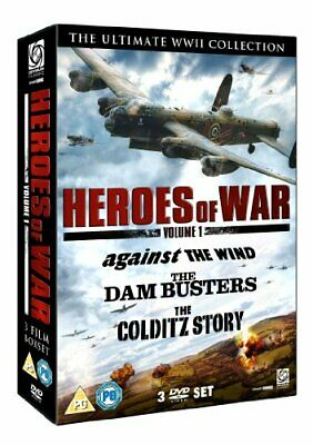 Heroes of War Vol 1 (Dambusters, The/Against The Wind/Colditz Sto... - DVD  PYLN