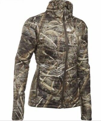1446ef3d824cc Under Armour Puffer Coat Small Jacket Realtree Camouflage Coldgear NWT  $149.99
