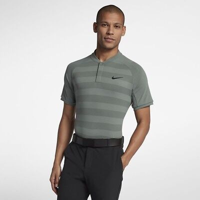 ddb6609e49 Nike Zonal Cooling Momentum Slim Fit Golf Polo. Medium. Clay Green Rory  McIlroy