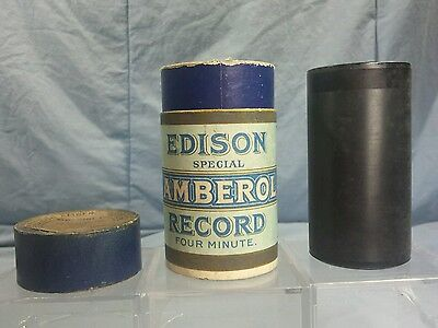 "Edison Amberol Four Minute Wax Cylinder & Box 4M Special D ""The Ninety And Nine"""