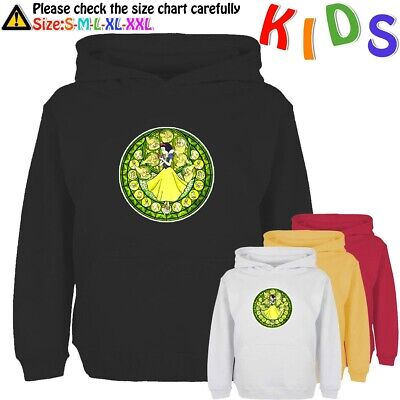 Stained Glass Disney Princess Snow White Kids Gift Graphic Sweatshirt Hoodie