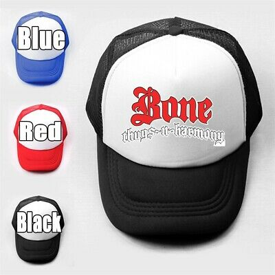 Bone Thugs n Harmony Girls Boys Plain Trucker Baseball Cap Solid Mesh Curved Hat