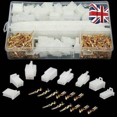40x Motorcycle Car Electrical Auto Connectors Terminal 2.8mm 2/3/4/6 Pin Wire UK