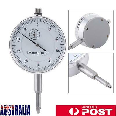Dial Indicator Gauge 0-10MM Outer Measuring 0.01mm Accuracy Instrument AU