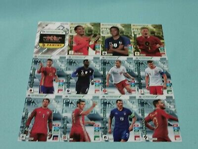 Panini Road to Uefa Euro 2020 Adrenalyn XL Set 6 - 12 x Limited Edition Premium