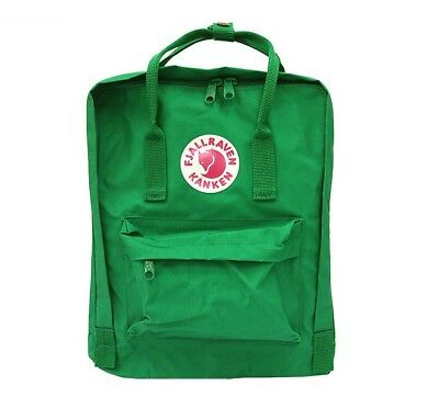 Mochila in FjallRaven Kanken Classic Style Teal Green Swedish arcti fox backpack