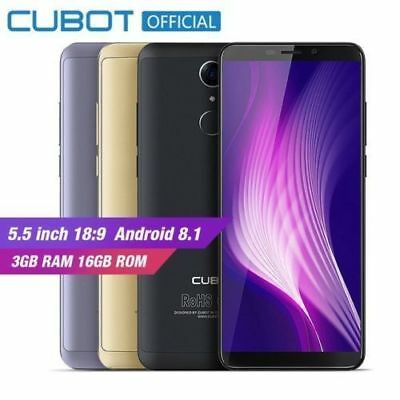 "FULL SCREEN 5.5"" Cubot Nova 4G Smartphone Android 8.1 3GB+16GB Dual SIM Móvil ES"