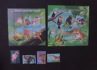 Grenada Grenadines 2001 Tropical Fauna SG3268/83 monkey MNH UM unmounted mint