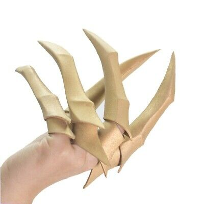 LOL KDA Evelynn Cosplay Fingers Paw Claw Gold Nail EVA Weapon Prop Anime Cosplay