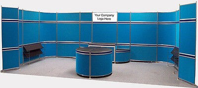 Modular Exhibition Stand - Marler Haley Poster Event Conference Boards