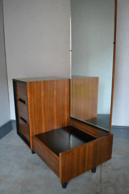 Mid Century Stag C range dressing table in Walnut