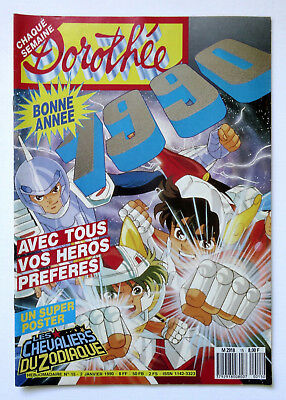 DOROTHEE MAGAZINE n° 15, Les Chevaliers du Zodiaques, Poster+Fiches TBE