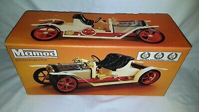 Vintage Mamod Steam Roadster Car Unused Boxed Unfired Brilliant Condition
