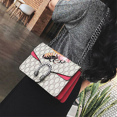 7507d97a1f1c Bee Women Handbag Shoulder Bag Satchel Dionysus Leather Messenger Hobo Tote