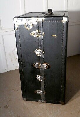 Fitted Steamer Trunk or Cabin Wardrobe, by Excelsior USA