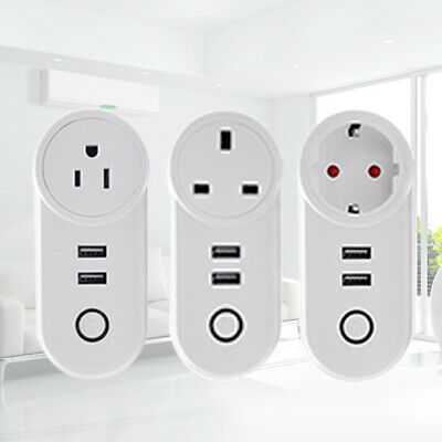 WIFI Smart Wireless Steckdose Remote Timer Ctrl Plug Stecker US/EU/UK Plug Hot