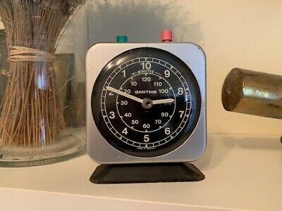 Vintage Smiths Wind Up Timer / Stop Clock  ** Made In West Germany **