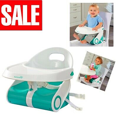 Baby Travel Booster Chair Seat Child Toddler Feeding Tray Infant Portable Feeder