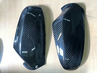 Vauxhall Astra H 2004-2009 Genuine Carbon Fibre Mirror Covers Direct Replacement