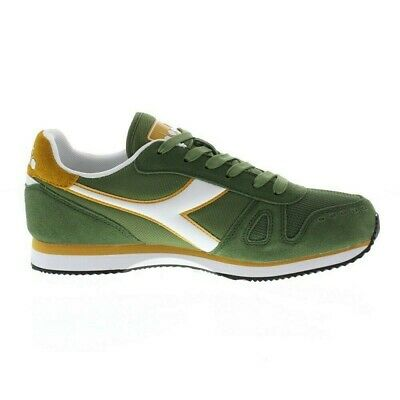 Scarpa Diadora Simple Run Sneaker Bronze Green Antique Uomo 101.1737450170223