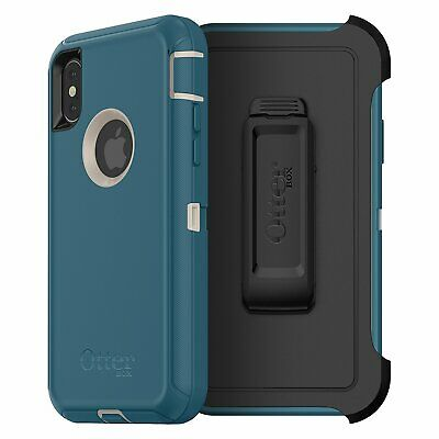 OtterBox Defender Series Case for iPhone Xs & X, Big Sur, Screenless Edition New
