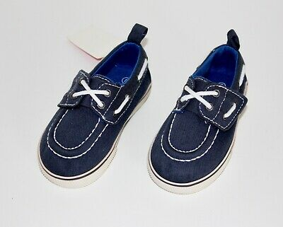 AND1 Toddler Boy Athletic Shoes 5 6 10 Gray Canvas Slip-On Soft Close Straps