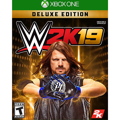 WWE 2K19: Deluxe Edition - Xbox One