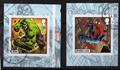 2019 - MARVEL. Stamps from Booklet. VFU. CDS